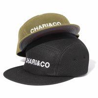 【CHARI&CO】BOLD LOGO MESH 5 PANEL CAP