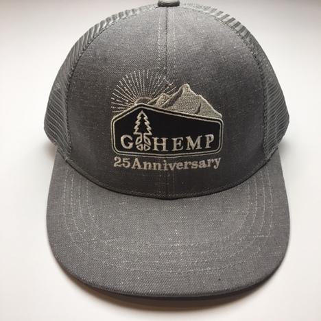 【GO HEMP】Anniversary LOGO MESH CAP