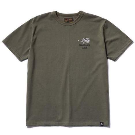 【CLUCT】S/S TEE ROSE