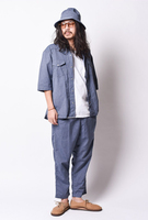 【GOWEST】EG PANTS / INDIGO HEATHER CHAMBRAY