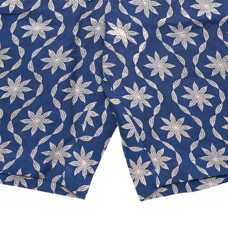 【GO HEMP】LEAF WAVE SHORTS / LEAF WAVE PRINT