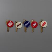 【CANDY DESIGN&WORKS】Fripp Original Key Label