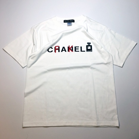 【HARLEM BLUES】FAKE CHANEL S/S TEE