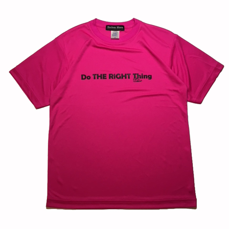 【HARLEM BLUES】DO THE RIGHT THING DRY TEE