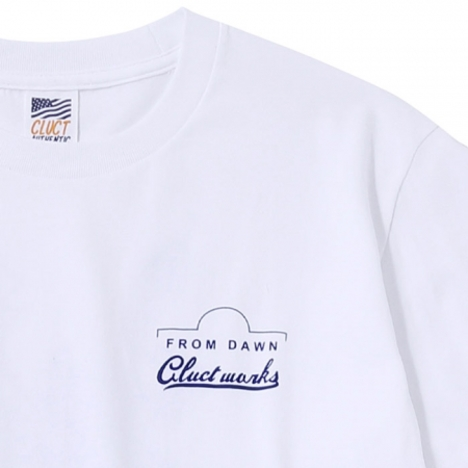 【CLUCT】SNAKE AND ROSE S/S TEE