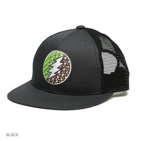 【GO HEMP】BOLT MESH CAP CAP/H/C POPLIN