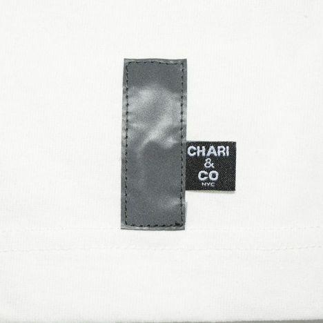 【CHARI&CO】BOLD LOGO ON RIB TEE