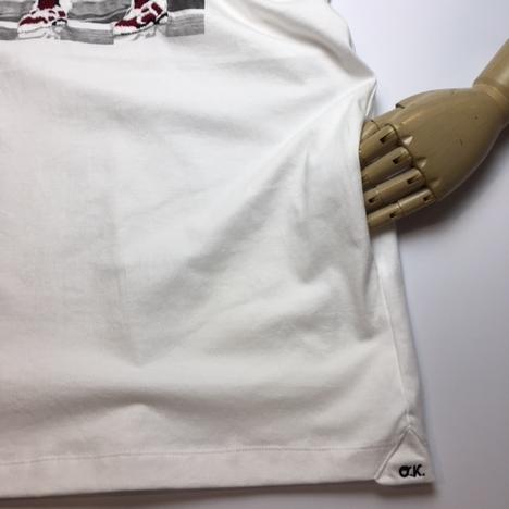 【O.K.】PHOTO AJ6 TEE(フォト+手刺繍)