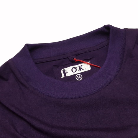 【O.K.】PHOTO BROOKLYN TEE(フォト+手刺繍)