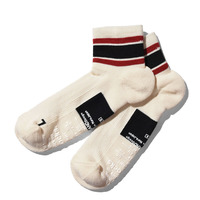 【ANDSOX】SUPPORT PILE SHORT ANKLE