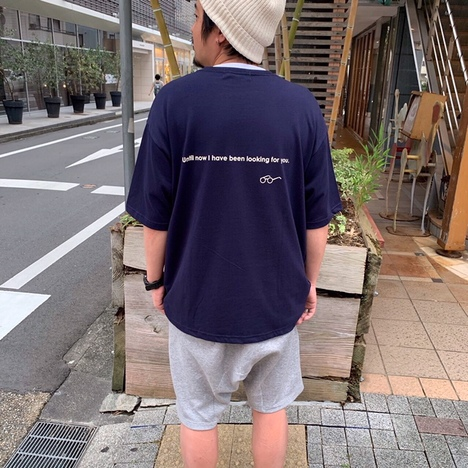 【HARLEM BLUES】MEGANE MEGANE BIG TEE(4col)