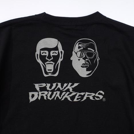 【PUNK DRUNKERS】x野性爆弾くっきー くっきードランカーズTEE'02