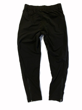 【LiSS】 STRETCH TAPERED ZIP PANTS