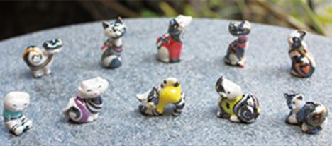 白黒の猫 10ピースシリーズ