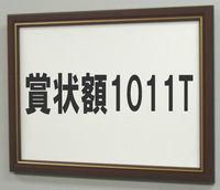 賞状額1011T A3(額縁内サイズ439X318ミリ)