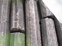 穴なし天然形状オガ炭