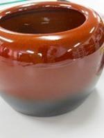 信楽焼き手火鉢ゴールデントング火箸セット-F