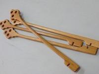 木製マドラー4本セット国産浄水竹炭5枚付