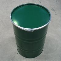 100L鉄製オープンドラム缶 外レバーバンド d5p
