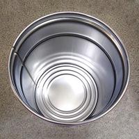 20L鉄製オープンペール缶 内面塗装無し