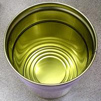 27L鉄製 【内面塗装:金ニス】 オープンペール缶