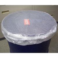 50Lドラム缶用 保護キャップ 透明色