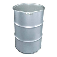200Lステンレス製オープンドラム缶 ボルトバンド