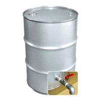 専用バルブ付き 200Lステンレス製クローズドラム缶