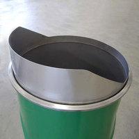 200Lオープンドラム缶用ステンレス製簡易シュート