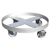 ステンレス製ドラム缶台車