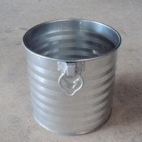 飼馬缶285φ(亜鉛メッキ鋼板オープン缶)