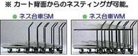 【代引不可商品】台車/ネス台車WM(2段用) sk118p