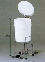 【代引き不可】20リットル プラスチック製メディカルペール缶K#20-2用スタンド sk9p