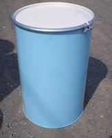 200L鉄製 再生オープンドラム缶 ストレート / 外レバー