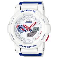 【Baby-G - ベビーG】 20%OFF BGA-185TR-7AJF「ホワイト トリコロール シリーズ」   (CASIO - カシオ)