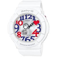 【Baby-G - ベビーG】 20%OFF BGA-130TR-7BJF 「ホワイト トリコロール シリーズ」ネオンダイアル   (CASIO - カシオ)