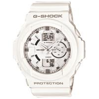 【G-SHOCK - G-ショック】20%OFF GA-150-7AJF 「GA-150シリーズ デジアナ」ホワイト×ホワイト (CASIO カシオ)
