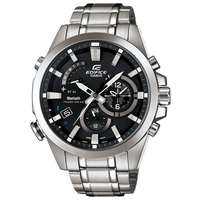 エディフィス EDIFICE カシオ CASIO メンズ 腕時計 Bluetooth モバイルリンク タフソーラー デュアルダイアルワールドタイム EQB-510D-1AJF