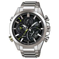 エディフィス EDIFICE カシオ CASIO メンズ 腕時計 Bluetooth モバイルリンク タフソーラー デュアルダイアルワールドタイム EQB-500D-1AJF