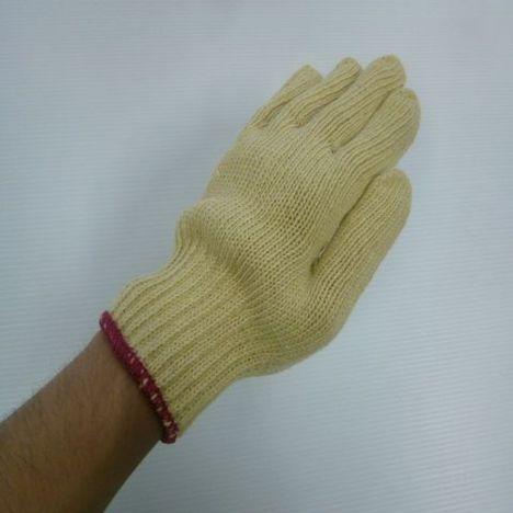 アラミド軍手 再生アラミド3本編軍手約720g(1ダース)耐切創性・耐熱性に優れた手袋 ケブラー手袋
