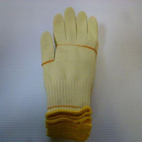 アラミド軍手 アラミドH100軍手(10双) 耐切創性・耐熱性に優れた手袋 ケブラー手袋