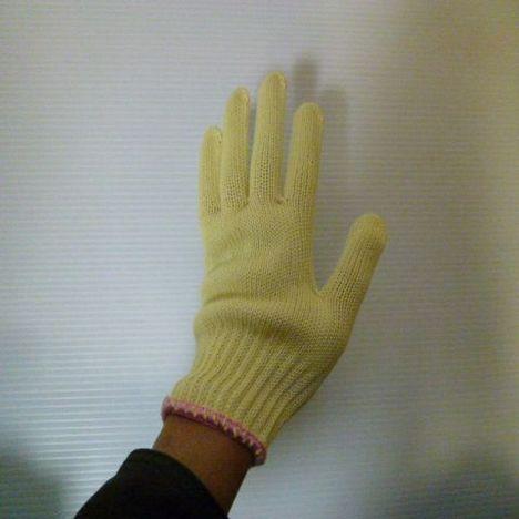 女性用アラミド軍手 アラミドH100女性用軍手(10双) 耐切創性・耐熱性に優れた手袋 ケブラー手袋