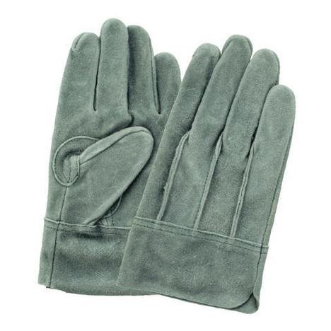 富士グローブ OIL66オイル床皮背縫手袋(10双)・お買い得な洗える皮手袋です!