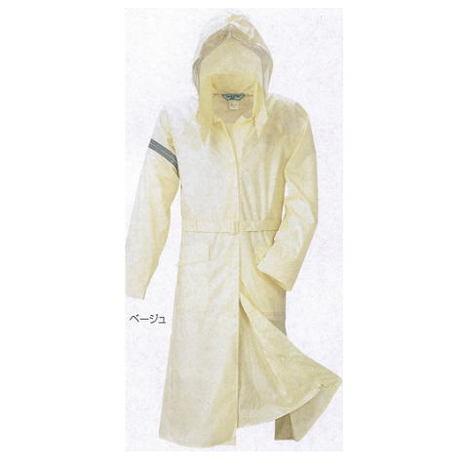 【富士ビニール工業】レインストーリー710コート(125cm)・大サイズ・女性用のレインコートです!【雨合羽】