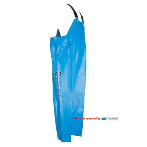 【トオケミ】282キャプテンスターレインサロペット(M~3L)・強力防水機能でマリン(水産用)に最適です!耐油&耐寒素材を使用!【雨合羽】