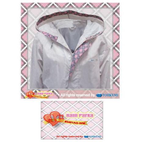 【トオケミ】3401AG-WM AGレインパーカ・多機能&高品質・女性用・様々な用途に使用可能なレインコートです!【雨合羽】