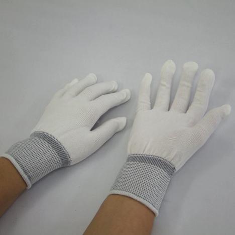 ポリフィット手袋12双入10袋(120双) 13ゲージ 薄手シームレス編手袋 品質管理や下履き用のポリエステル製手袋 使い捨て 13G 下履き手袋 激安 最安値