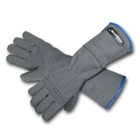 ヘラクレス 400R6E 防護手袋 トリマーグローブ セーフティグローブ 安全保護手袋 動物の取扱い 耐切創 耐突刺 耐摩耗  ヘックスアーマー手袋 HexArmor