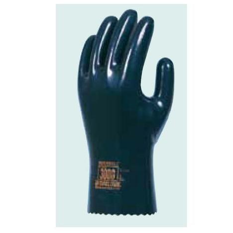 ダイローブ3000(10双) 耐溶剤用手袋 静電気対策用手袋 ポリウレタン製 裏地付 ノンブリードタイプ 静電手袋 ダイヤゴム