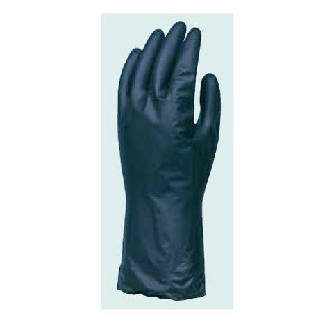 ダイローブH4(10双) 耐溶剤用手袋 静電気対策用手袋 ポリウレタン製 厚み0.1mm 薄手タイプ パウダーフリー 静電手袋 ダイヤゴム